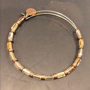 Alex and Ani Amber crystal bracelet